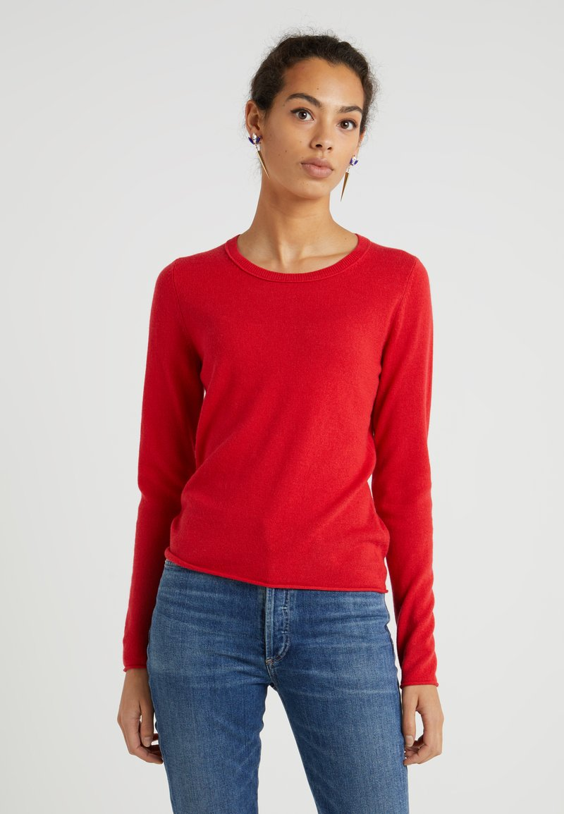 FTC Cashmere - SEA CELL ROUND NECK - Jumper - true red