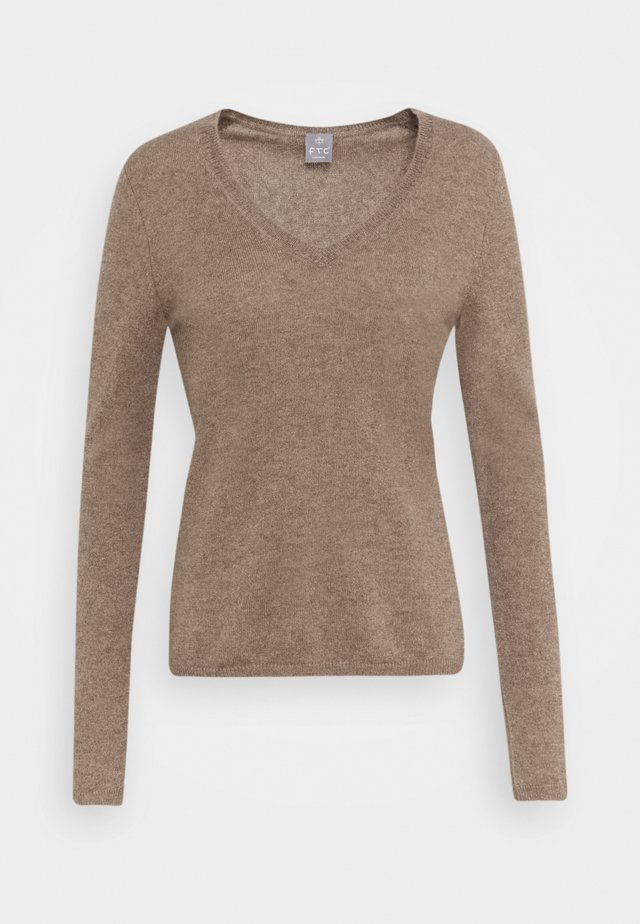 Jumper - natural taupe
