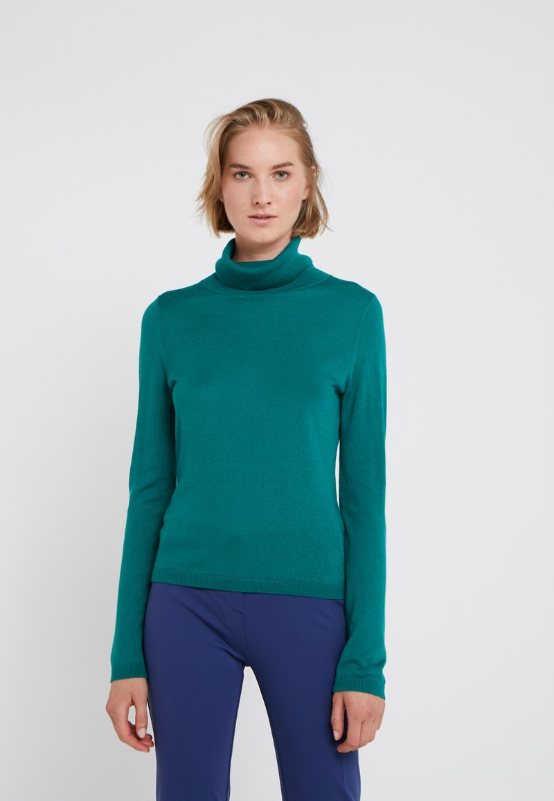 FTC Cashmere - ROLLNECK - Trui - teal green