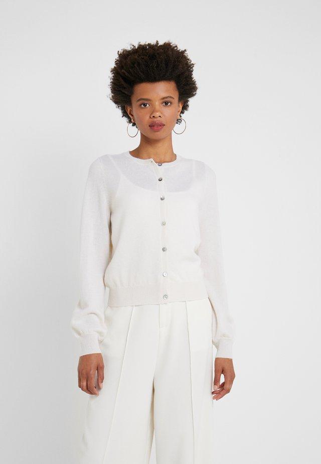 Strickjacke - pristine white