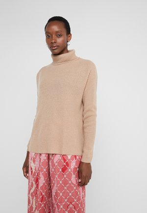 ROLLNECK - Jumper - almond
