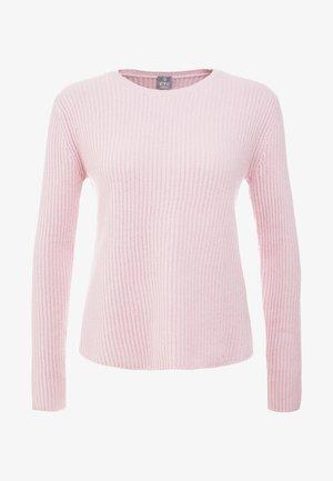 Strikpullover /Striktrøjer - crystal pink