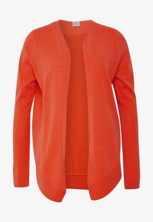 BINDING - Strickjacke - vibrant orange