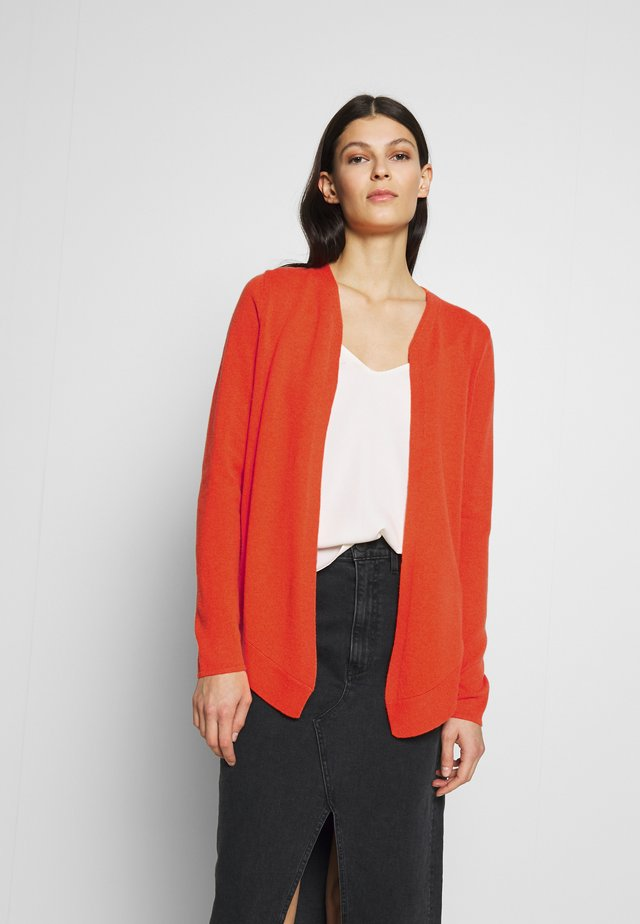BINDING - Cardigan - vibrant orange