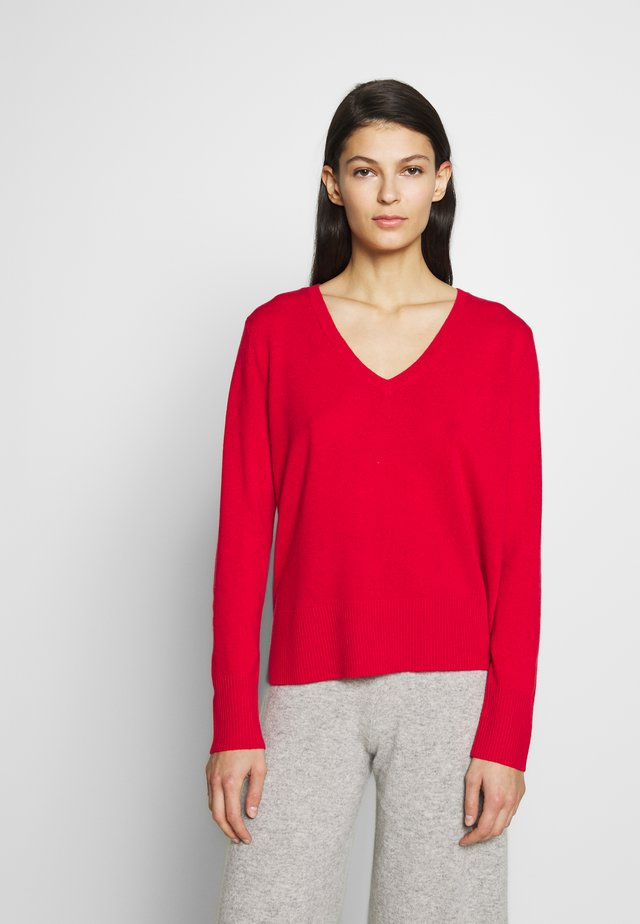 Jumper - lipstick red