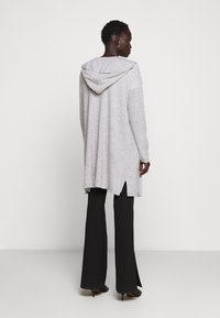 FTC Cashmere - CARDIGAN OPEN - Cardigan - silver stone - 2
