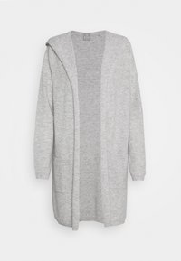 FTC Cashmere - CARDIGAN OPEN - Cardigan - silver stone - 6