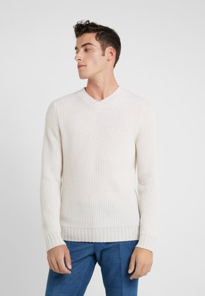 Strickpullover - pristine white
