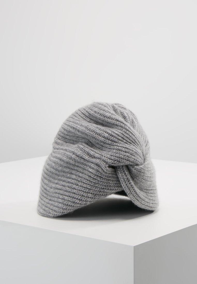 FTC Cashmere - TURBAN BEANIE - Bonnet - grau