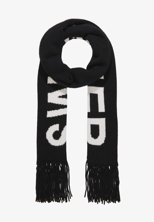 LOGO SCARF - Schal - black/white