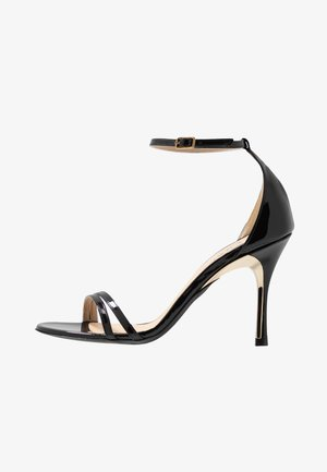 Korolliset sandaalit - onyx
