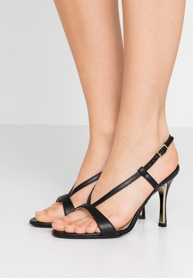 Sandales à talons hauts - onyx