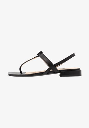 1927 THONG - T-bar sandals - nero