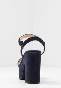 Furla - ZONE WEDGE  - High heeled sandals - oceano - 5