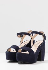 Furla - ZONE WEDGE  - High heeled sandals - oceano - 4