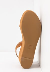 Furla - ZONE WEDGE - Platform sandals - cognac - 6