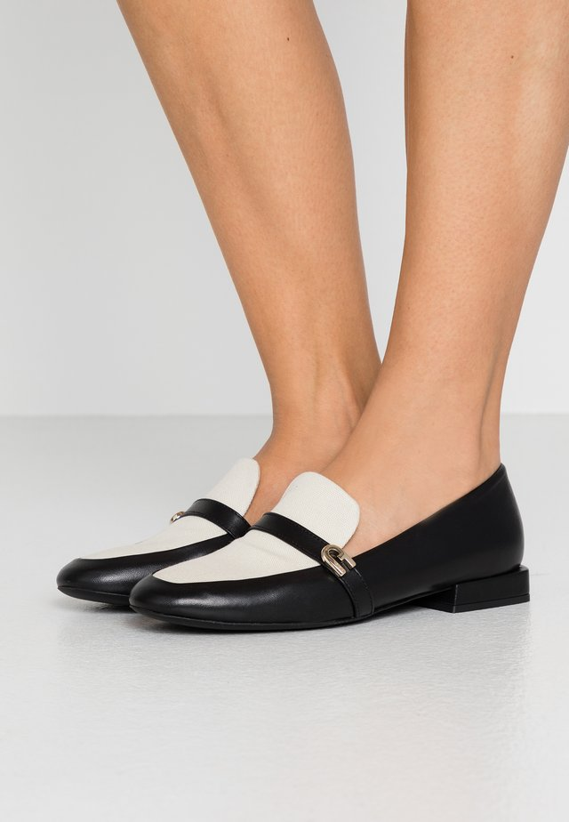 1927 LOAFER - Instappers - nero/naturale