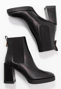 Furla - GRETA BOOT  - Botines de tacón - onyx - 3
