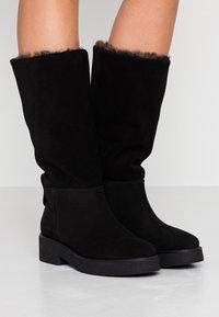 Furla - GRETA - Winter boots - onyx - 0