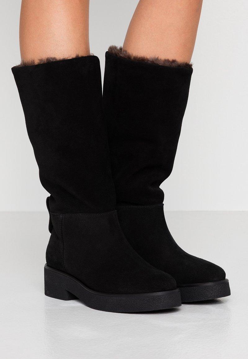 Furla - GRETA - Winter boots - onyx