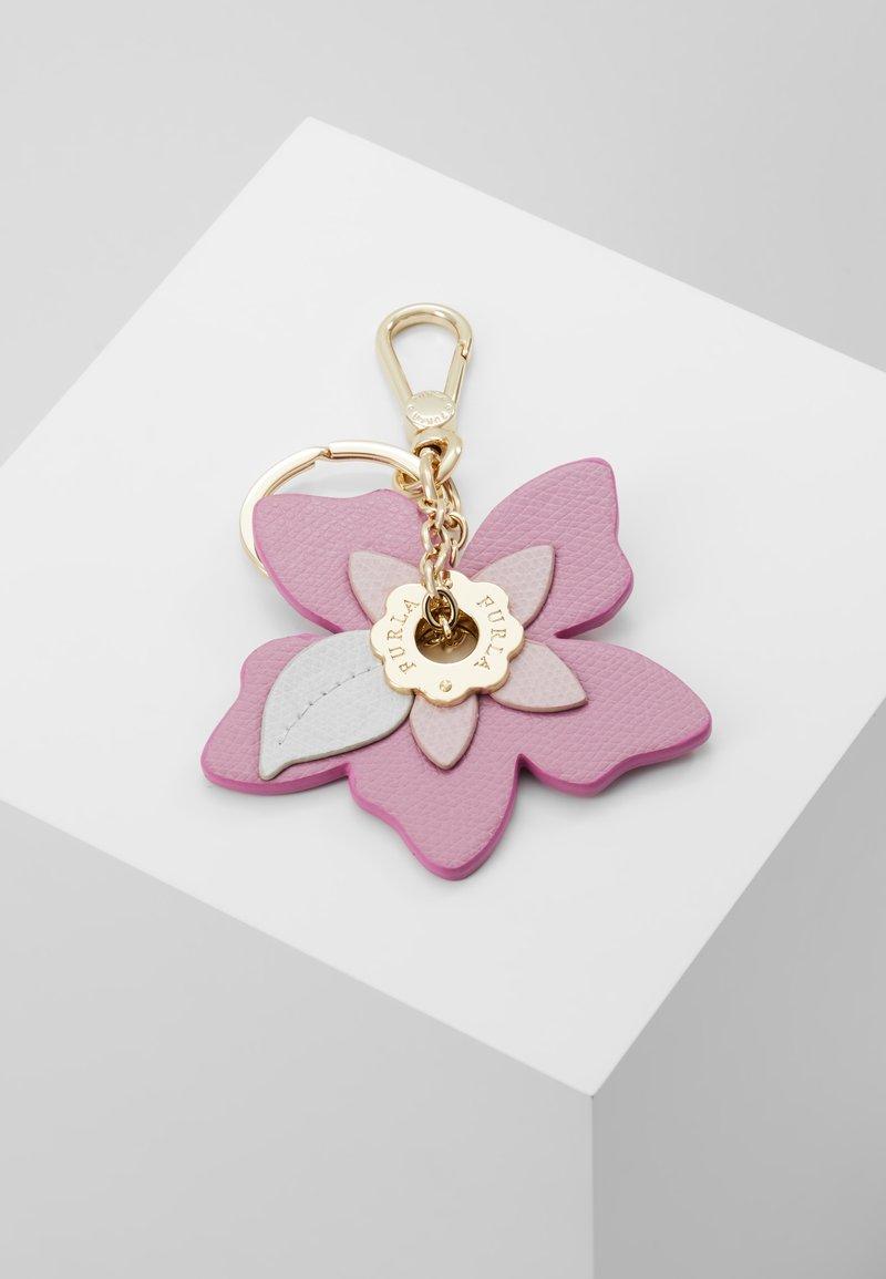 Furla - PAPILLON KEYRING FLOWER EYELET - Schlüsselanhänger - malva