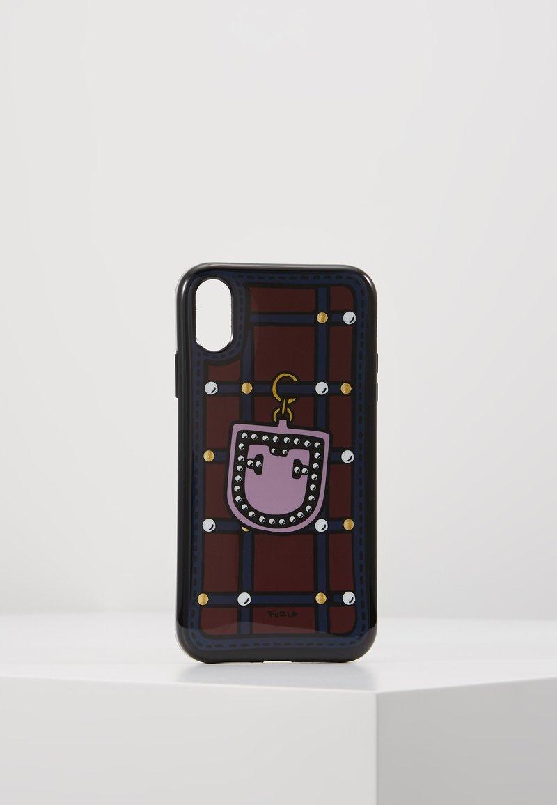 Furla - HIGH TECH S IPHONE XR CASE - Étui à portable - ciliegia/blu notte/lilla