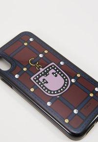 Furla - HIGH TECH S IPHONE XR CASE - Étui à portable - ciliegia/blu notte/lilla - 2