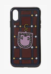 Furla - HIGH TECH S IPHONE XR CASE - Étui à portable - ciliegia/blu notte/lilla - 1
