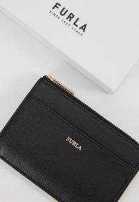 Furla - BABYLON CREDIT CARD CASE - Peněženka - onyx - 2