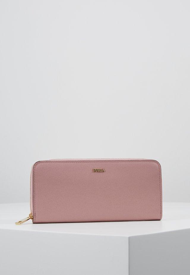 BABYLON XL ZIP AROUND SLIM - Geldbörse - rosa antico