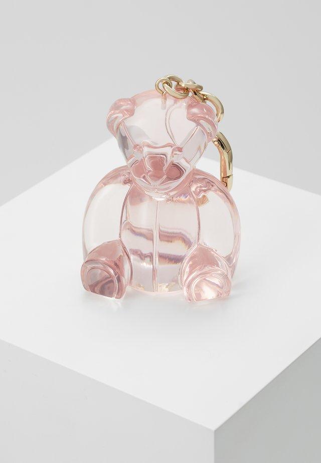 GLOSSKEYRING BEAR - Sleutelhanger - rosa chiaro