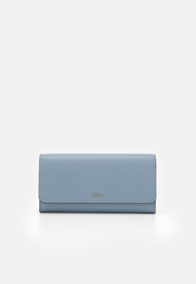 BABYLON CONTINENTAL WALLET SLIM - Geldbörse - avio light grey