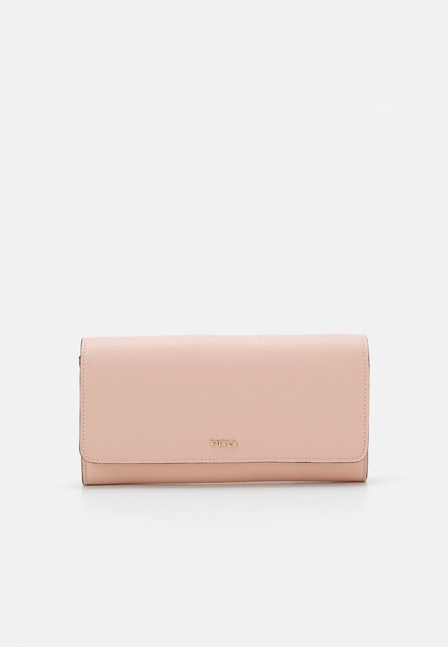 BABYLON CONTINENTAL WALLET SLIM - Geldbörse - candy rose