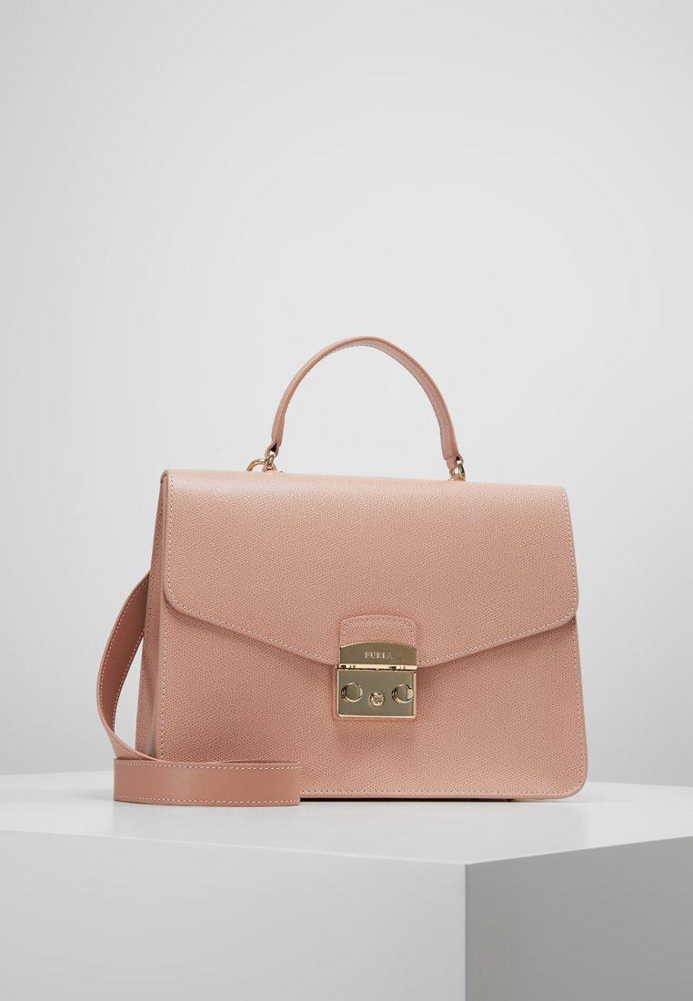 Furla - METROPOLIS TOP HANDLE - Handbag - moonstone
