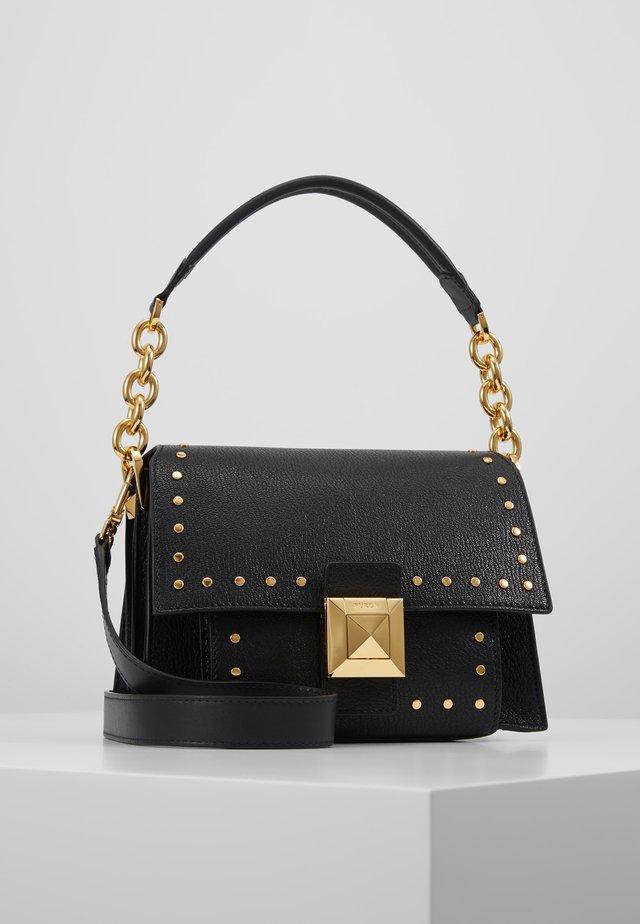 DIVA MINI SHOULDER BAG - Handbag - onyx