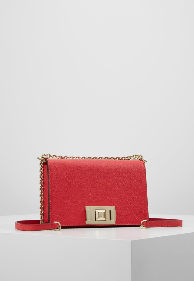 MIMI MINI CROSSBODY - Olkalaukku - fragola