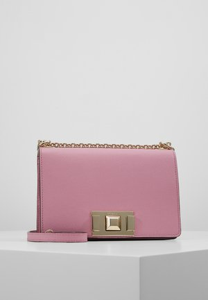 MIMI MINI CROSSBODY - Schoudertas - malva