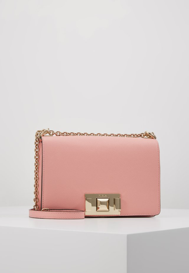 MIMI MINI CROSSBODY - Olkalaukku - rosa