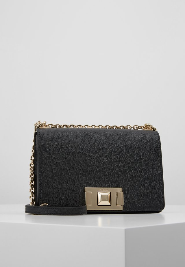 MIMI MINI CROSSBODY - Olkalaukku - onyx
