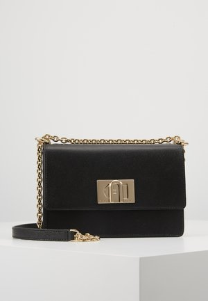 FURLA 1927 MINI CROSSBODY - Schoudertas - onyx