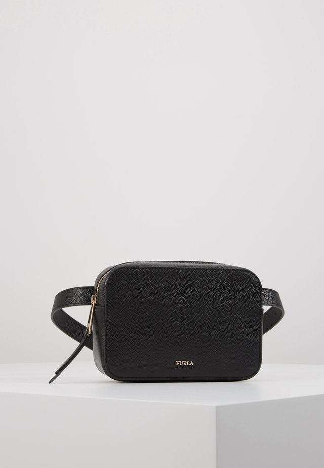 BABYLON BELT BAG - Saszetka nerka - onyx