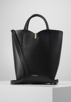 RIBBON BUCKET BAG - Handbag - nero