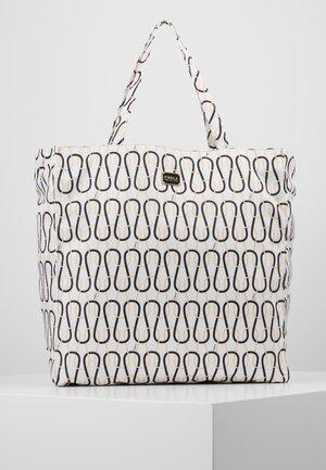 DIGIT TOTE - Shoppingveske - talco/nero/crema