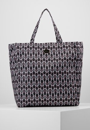 DIGIT TOTE - Tote bag - nero/talco/rosa