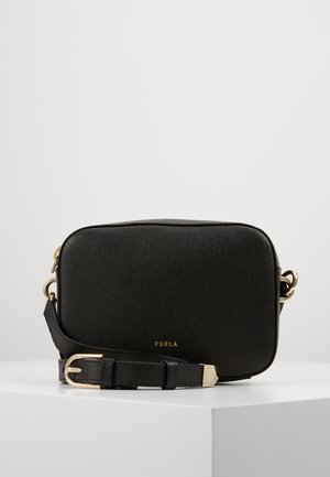 BLOCK MINI CROSSBODY - Schoudertas - nero