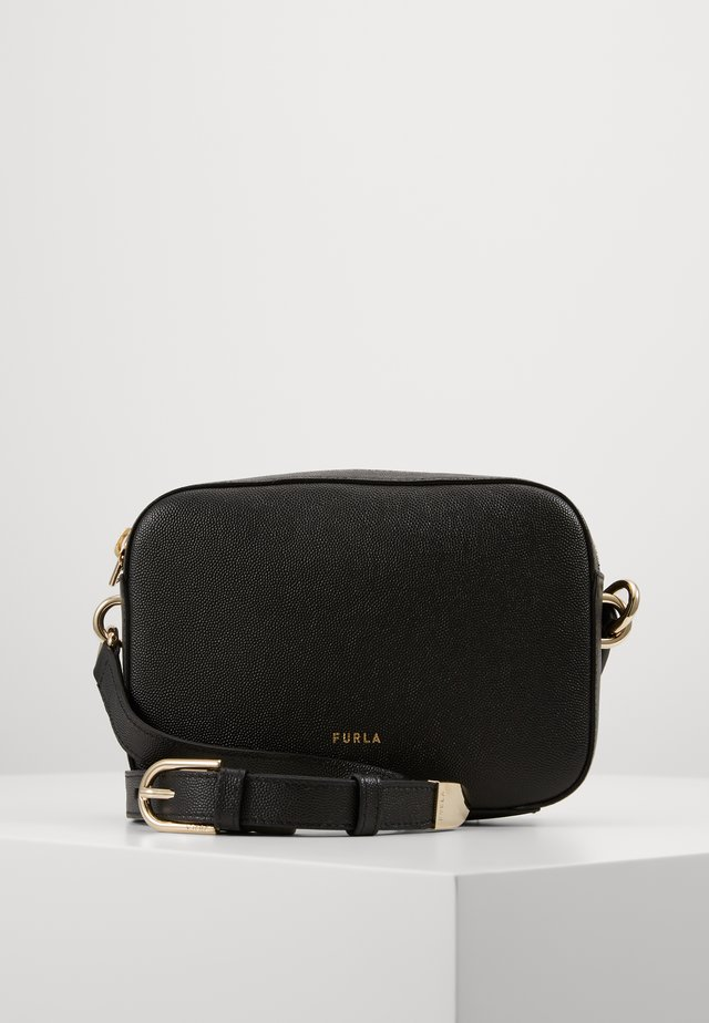 BLOCK MINI CROSSBODY - Torba na ramię - nero