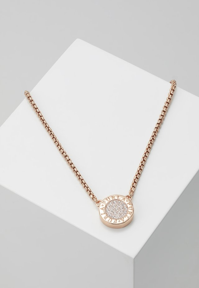 NECKLACE MEDALLION - Halskette - rose gold-coloured