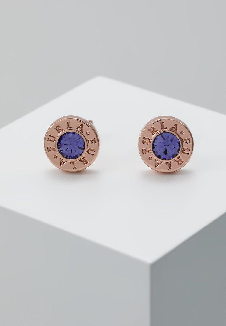 Furla - CRYSTAL EARRING MEDALLION - Earrings - violetta
