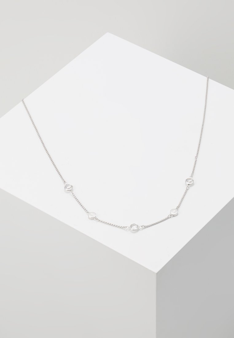 Furla - NECKLACE MEDALLION - Halsband - silver-coloured