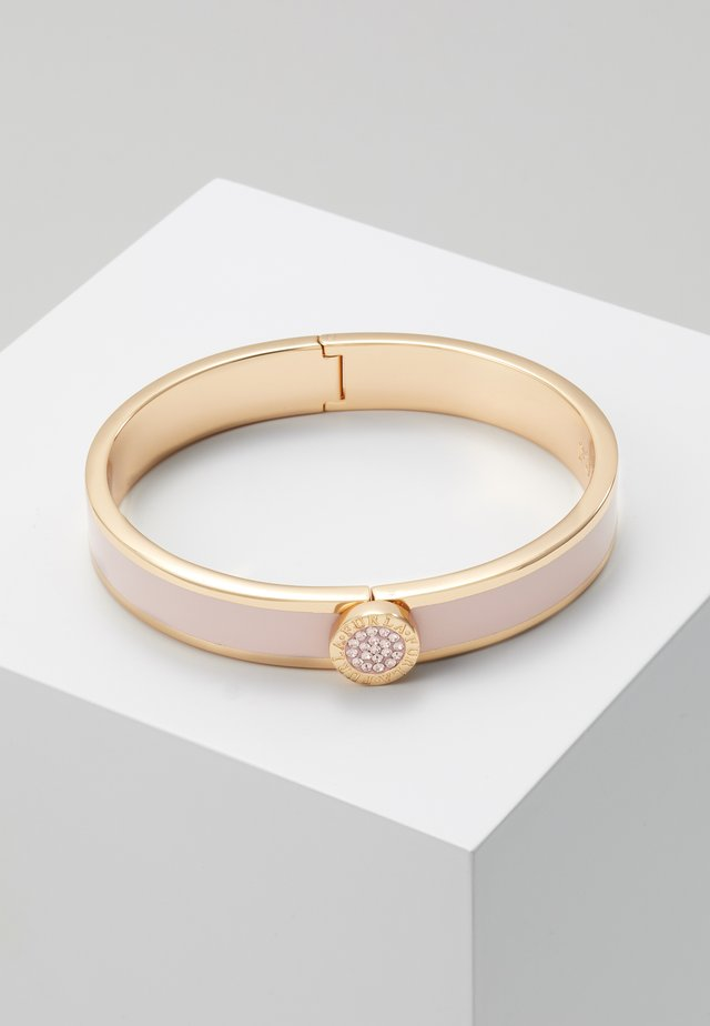 CRYSTAL BANGLE MEDALLION - Náramek - camelia e